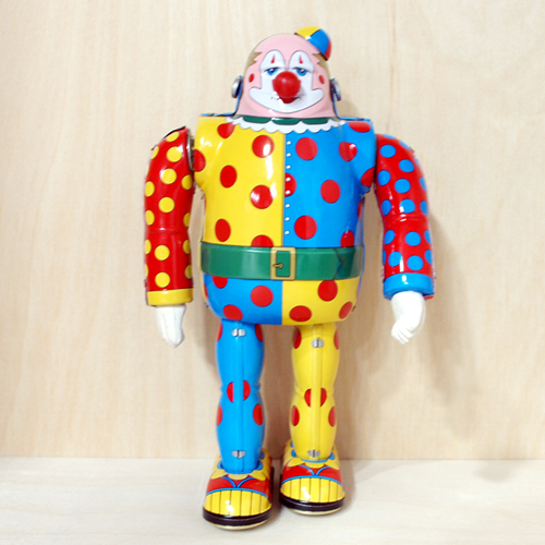 CLOWN PIERROT ROBOT(양철 로봇)