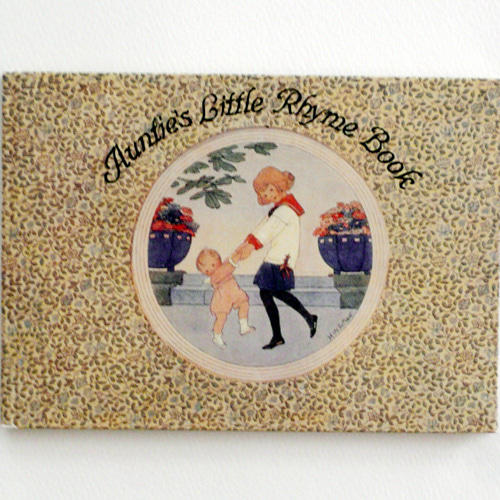 Auntie's Little Rhyme Book-Willebeek le Mair(1993년 복간본(1913년 초판))