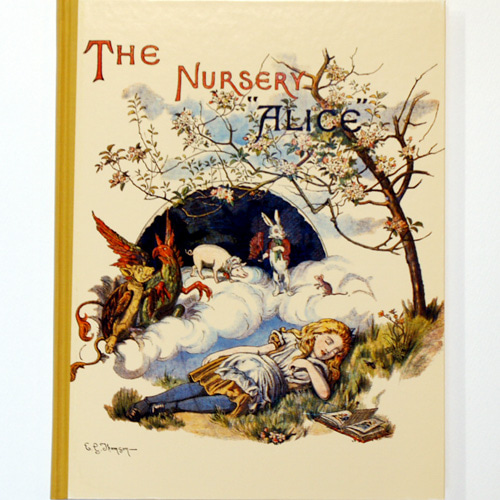 "The Nursery ""ALICE""-John Tenniel(1987년 복간본(1889년 Macmillian & co판))"