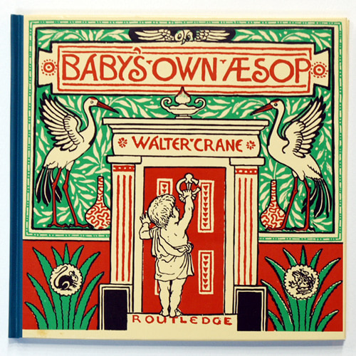 THE BABY'S OWN AESOP-Walter Crane(1987년 복간본(1887년))
