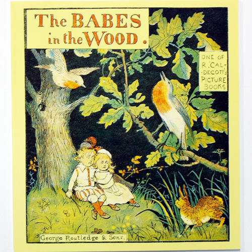 The Babes in the Wood-Randolph Caldecott(1987년 복간본(1880년))