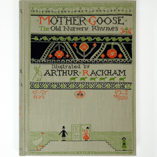 MOTHER GOOSE The Old Nursery Rhymes-Arthur Rackham(1993년 복간본(1913년 초판))