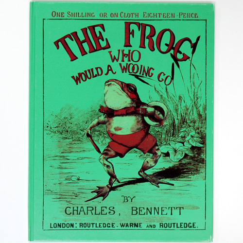 THE FROG WHO WOULD WOOING GO