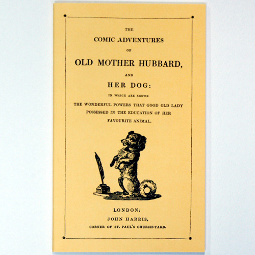 OLD MOTHER HUBBARD AND HER DOG-Martin, Sarah Catharine(1993년 복간본(1830년 초판))-챕북