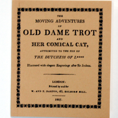 THE MOVING ADVENTURES OF OLD DAME TROT AND HER COMICAL CAT
