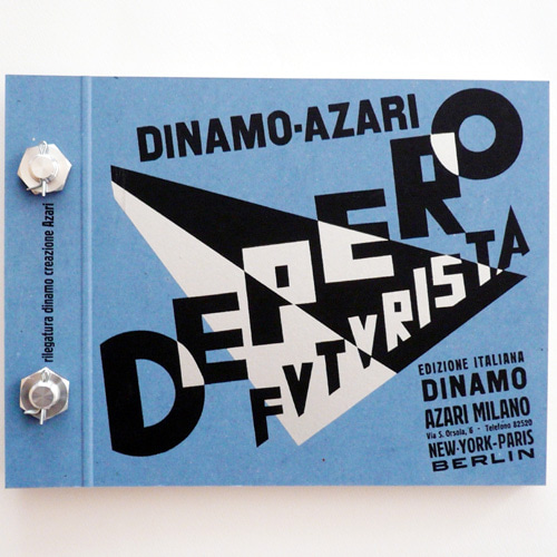 The Bolted Book (Depero Futurista)-Fortunato Depero