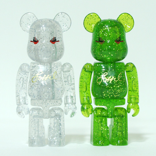 Be@rbrick 100% FOSSIL 2007 Christmas Campaign 개봉