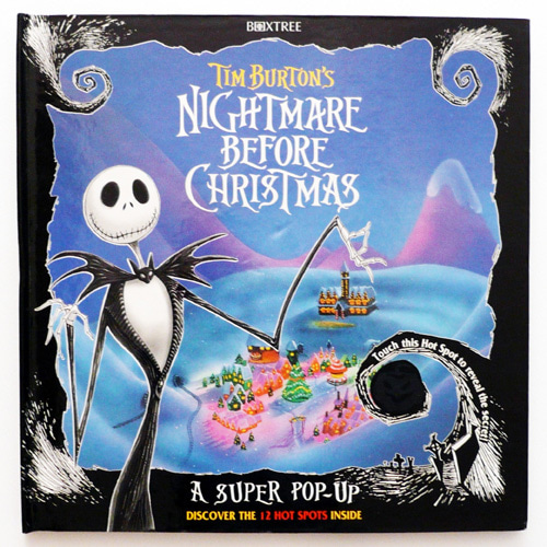Tim Burton's Nightmare Before Christmas Pop-up book