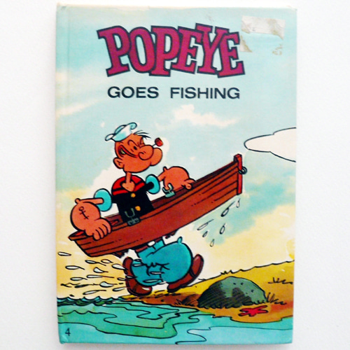 Popeye Goes Gardening Pop-up Book