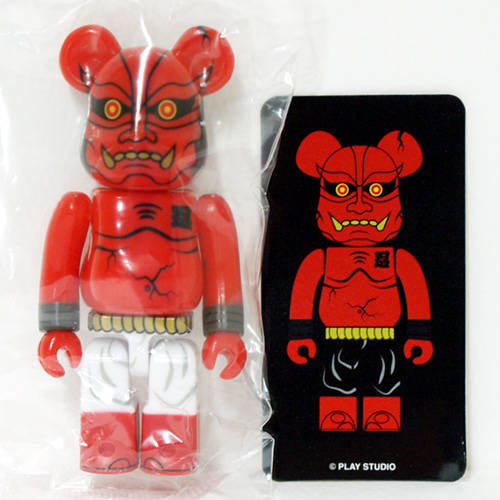 Be@rbrick Series35-SECRET Red Oni 0.52%