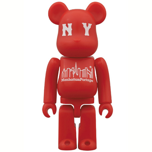 BE@RBRICK 100% Manhattan Portage 30th Anniversary Model