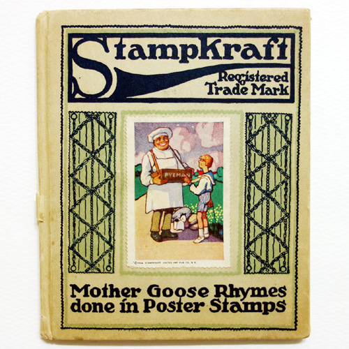 Stampkraft-Mother Goose Rhymes(1914년 초판본)