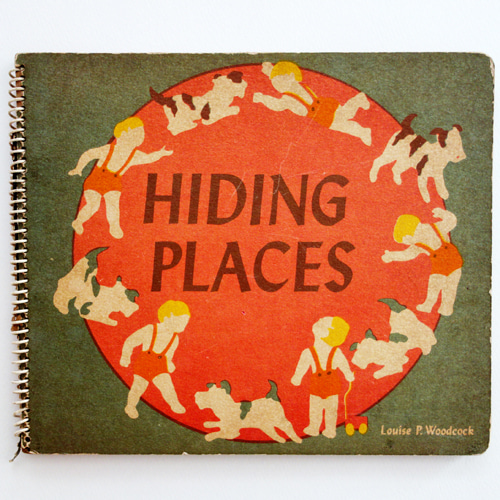 Hiding Places-Esphyr Slobodkina(1943년 초판본)