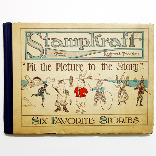 Stampkraft Six Favorite Stories(1916년 초판본)