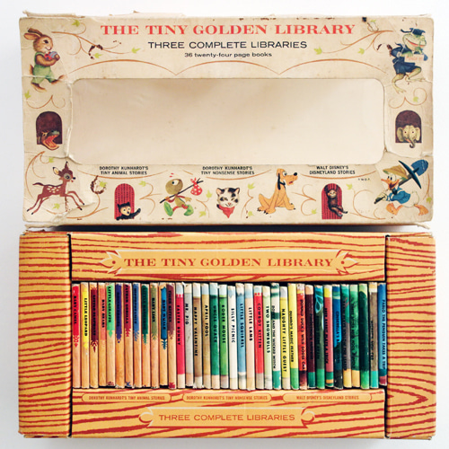 The Tiny Golden Library 36권 세트(1964년 버전)