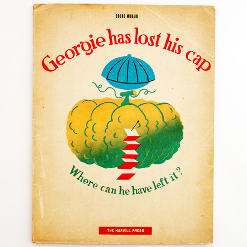 Georgie has lost his cap-Bruno Munari(1945년 영국 초판)