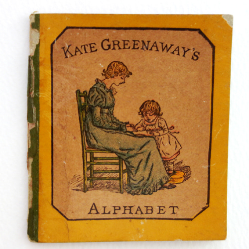 Kate Greenaway's Alphabet(1885년 초판본)