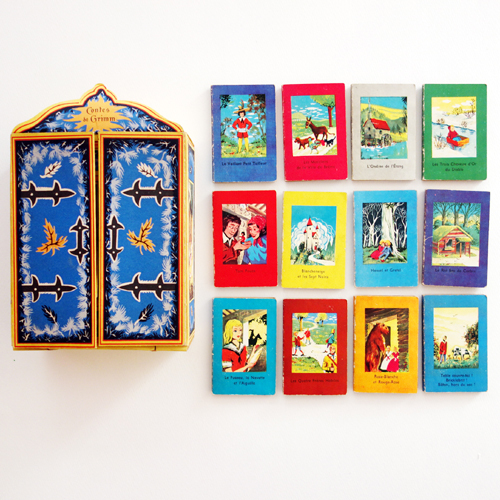 Contes de Grimm Mini Books(1950년 프랑스 초판본)