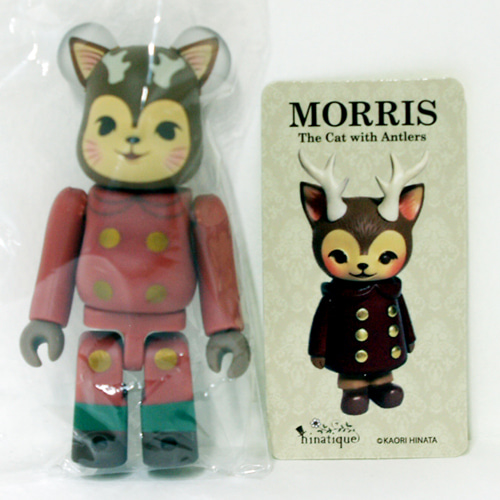 Be@rbrick Series36-ARTIST SECRET MORRIS The Cat with Antlers 도색 불량