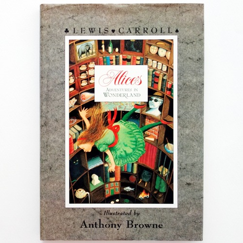 Alice's Adventures in Wonderland-Anthony Browne(1988년 영국 초판본)
