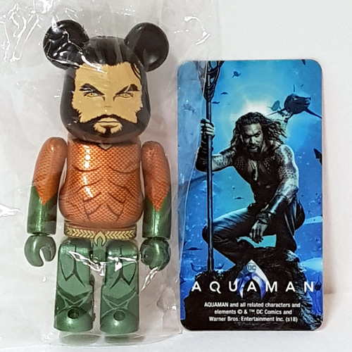 Be@rbrick Series37-HERO AQUAMAN 도색 불량