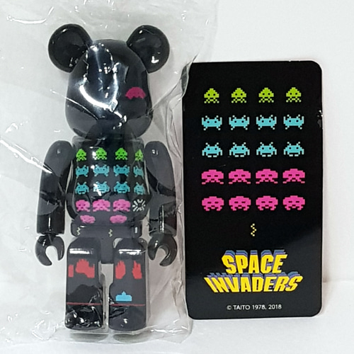 Be@rbrick Series37-PATTERN Space Invaders
