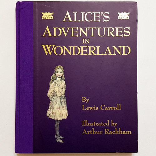 Alice's Adventures in Wonderland-Arthur  Rackham(1995년 복간본, 1907년 초판)