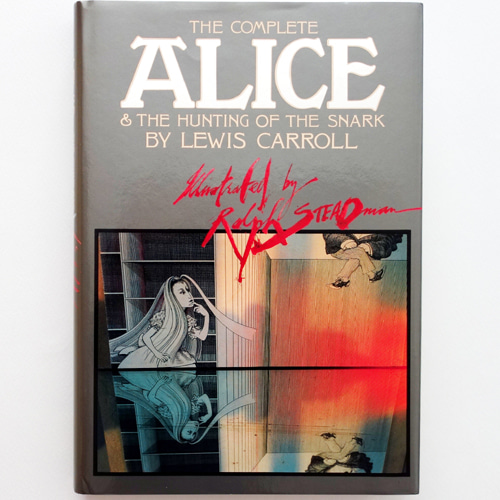 Complete Alice & the Hunting of the Snark-Ralph Steadman(1986년 합본 초판, 1967년 초판)