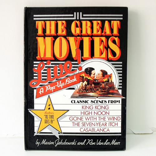 The Great Movies Live! a pop-up book(1987년 초판본)