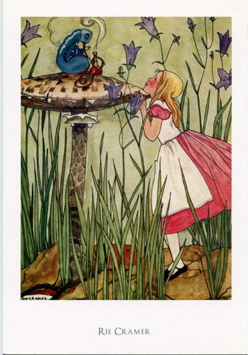 Alice in Wonderland Postcard-리에 크레머