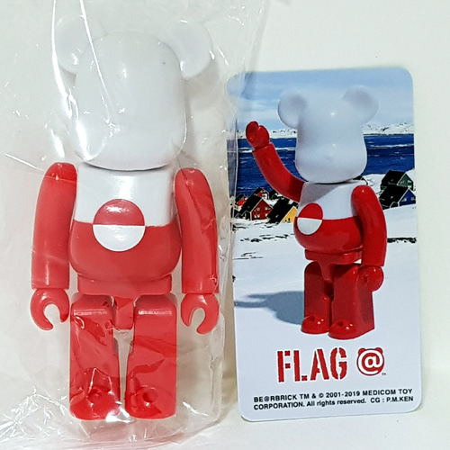 Be@rbrick Series38-FLAG Greenland