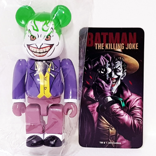 Be@rbrick Series38-VILLAIN BATMAN-THE KILLING JOKE 흠집