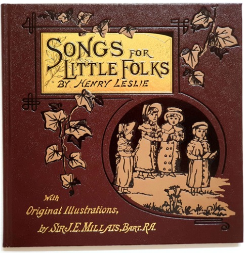 SONG FOR LITTLE FOLKS-J. E. Millais, Bart. R. A.(1996년 복간본(1885년 초판))