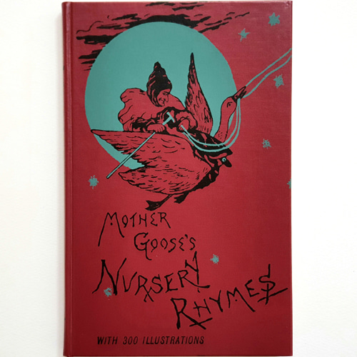 MOTHER GOOSE'S NURSERY RHYMES A COLLECTION-John Tenniel 외(1996년 복간본(1891년 초판))