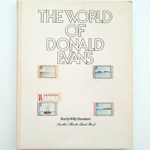 The world of Donald Evans(1980년 페이퍼백 초판)
