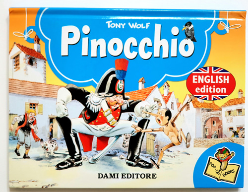 Pinocchio Pop-up Book