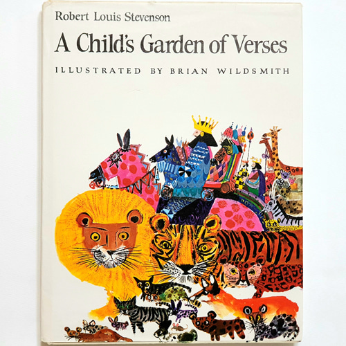 A child's garden of verses-Brian Wildsmith(1973년 4쇄본(1966년 초판))