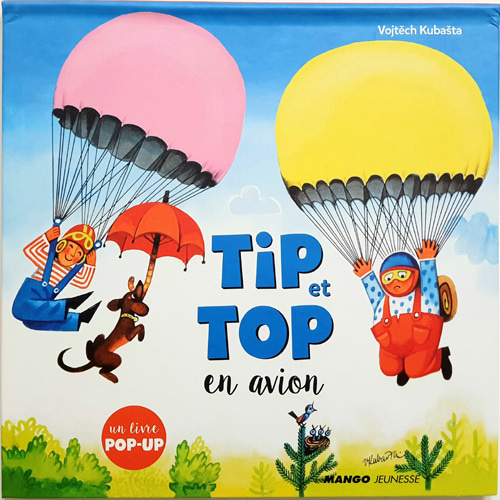 Tip et Top en avion-Kubasta(2017년 복간본(1963년 초판))