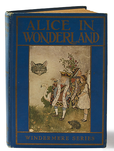 Alice in Wonderland-Milo Winter(1920년(?) 재판본(1916년 초판))