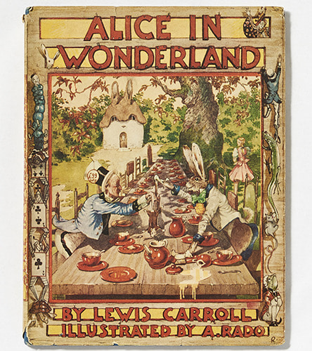 Alice In Wonderland-Anthony Rado(1944년 초판)
