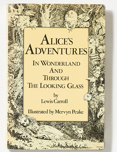 Alice in Wonderland-Mervyn Peake(1978년 복간본(1954년 초판))