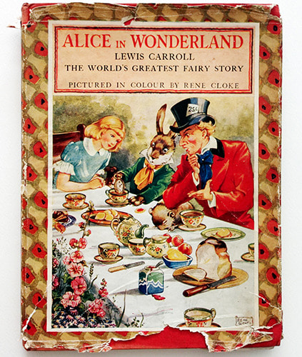 Alice In Wonderland-Rene Cloke(1945년 3쇄본(1943년 초판))