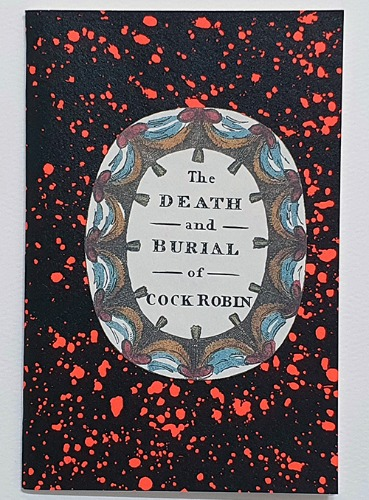THE DEATH AND BURIAL OF COCK ROBIN(1992년 복간본(1806년 초판)) 챕북