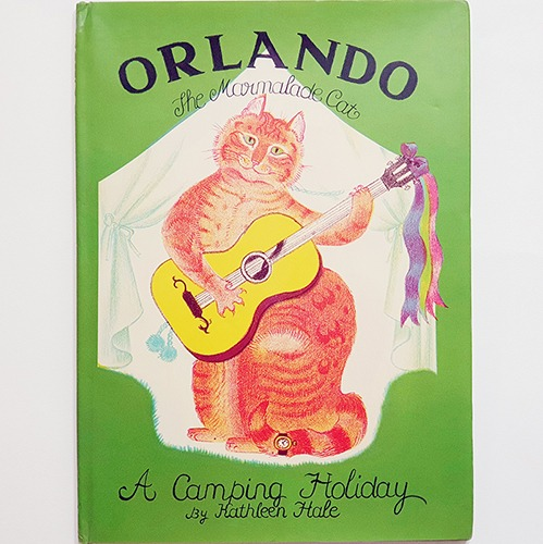 Orlando the Marmalade Cat-A Camping Holiday-Kathleen Hale(1990년 복간본(1938년 초판)