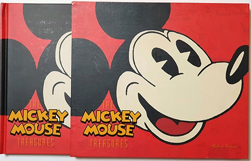 The Mickey Mouse Treasures(2007년 초판본)