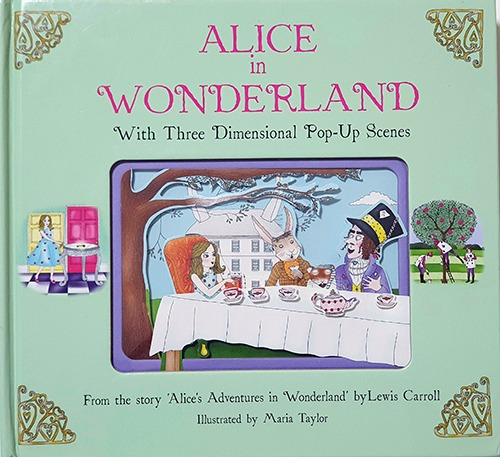 Alice in Wonderland: With 3-Dimensional Pop-Up Scenes(2014년)