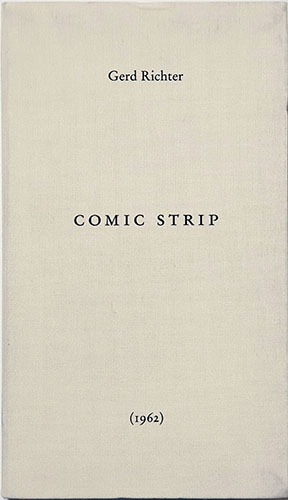 Gerd Richter: Comic Strip 1962