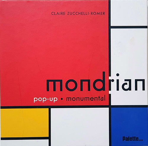 Mondrian pop-up book