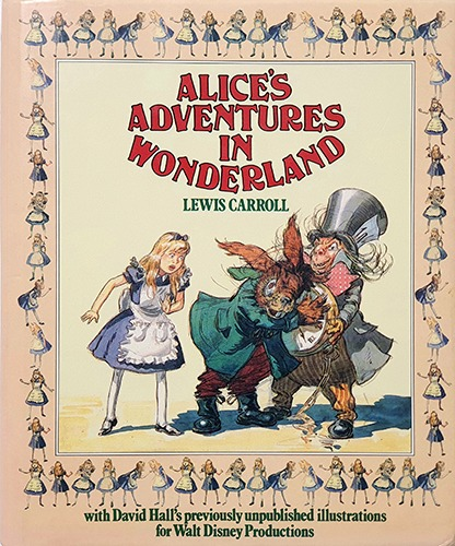 David Hall-Alice's Adventures in Wonderland(1986년 초판본)