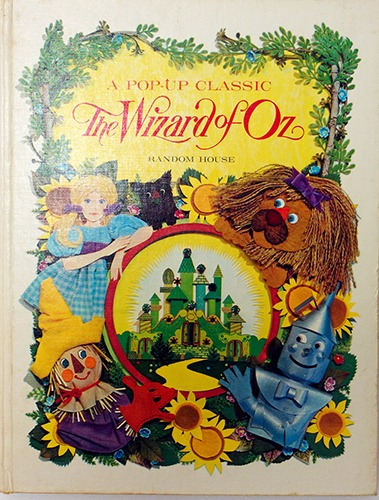 The Wizard Of Oz-Random House(1968년 초판본)
